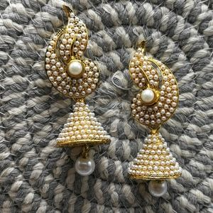 Vintage Indian pearl ornate traditional Bollywood